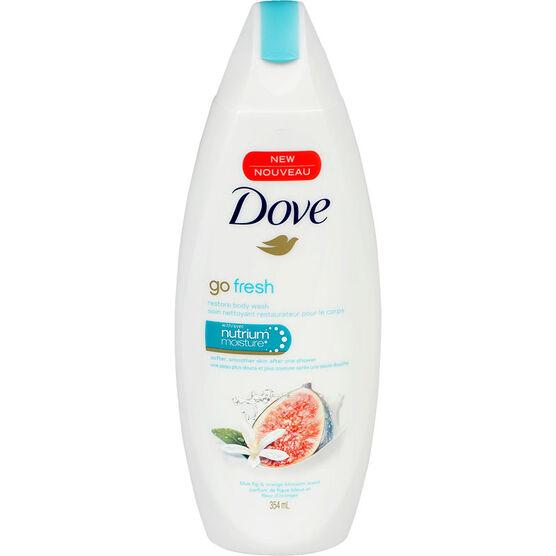 Dove Go Fresh Restore Body Wash - Blue Fig & Orange Blossom - 354ml