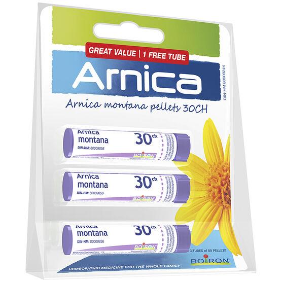 Boiron Arnica Pellets - 3 x 30's