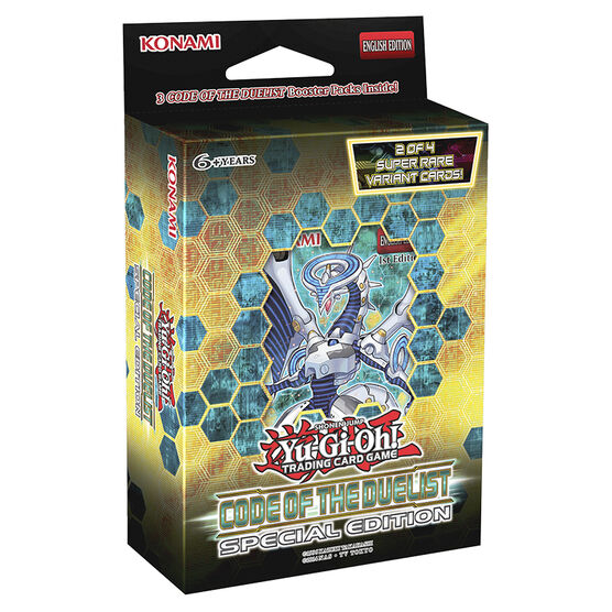 Yu Gi Oh Code of the Duelist Special Edition