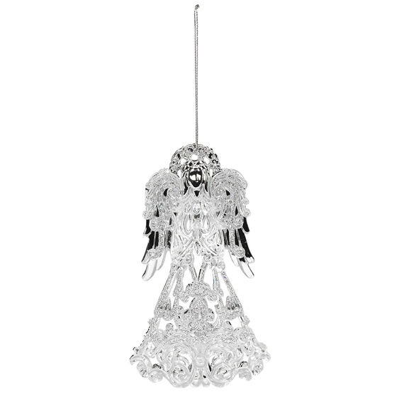 Polar Ice Plastic Angel Ornament - 5.6in - Assoted