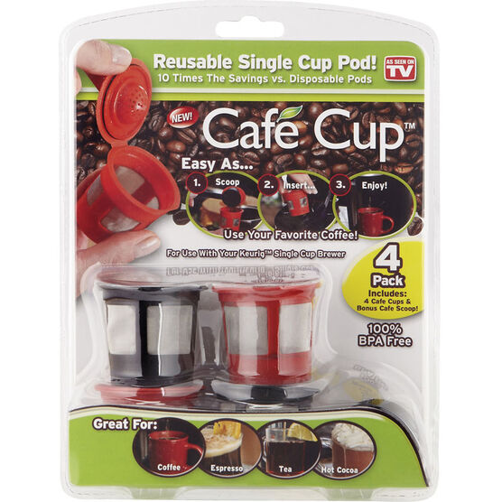 Cafe Cup - 4 pack