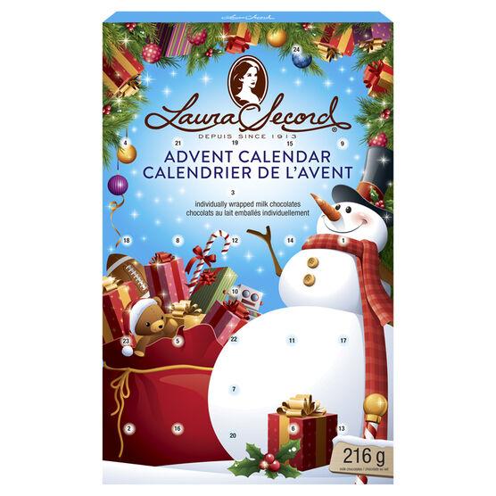 Laura Secord Advent Calendar - 216g