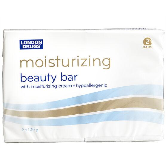 London Drugs Moisturizing Beauty Bar - 2 x 120g