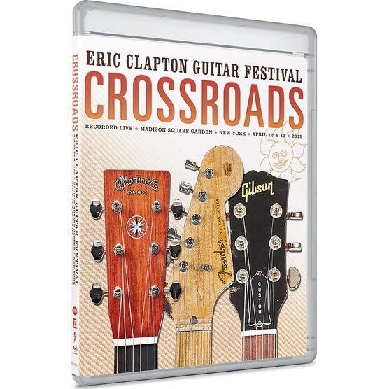 Eric Clapton - Crossroads Guitar Festival 2013 - DVD