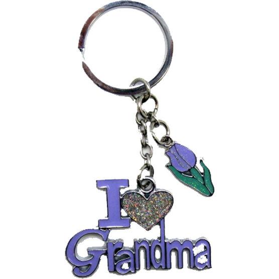 Valentine's I Love Grandma Key Tag