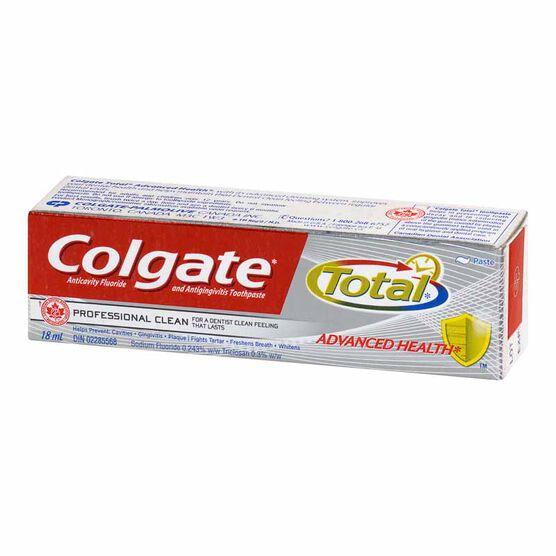 Colgate Total Advanced Toothpaste - 18ml