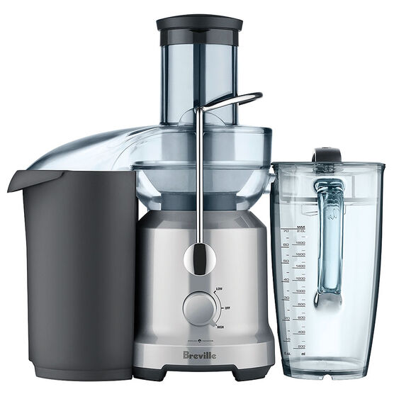 Breville The Juice Fountain Cold - Silver - BJE430SIL