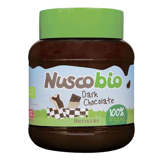 Nuscobio Spread - Dark Chocolate - 400g