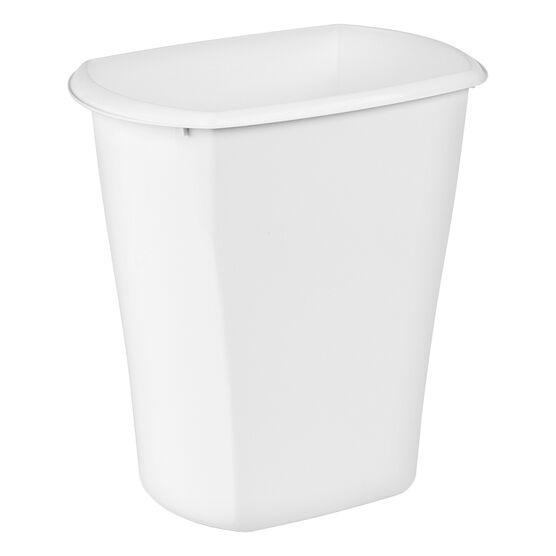 Sterilite Rectangular Wastebasket - White - 21L