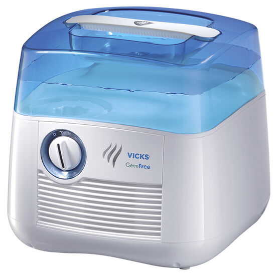 Vicks GermFree Cool Moisture Humidifier - White/Blue - V3900-CAN