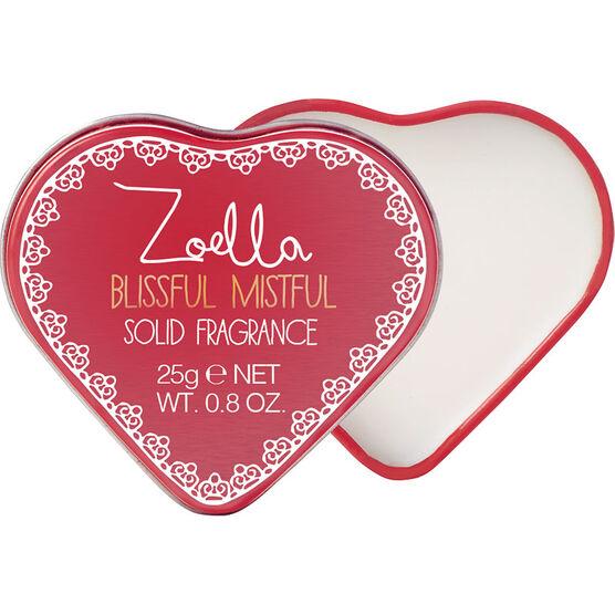 Zoella Beauty Blissful Mistful Solid Fragrance Tin - 25g