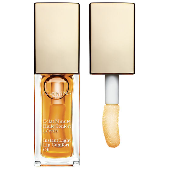 Clarins Instant Light Lip Comfort Oil - 01 Honey