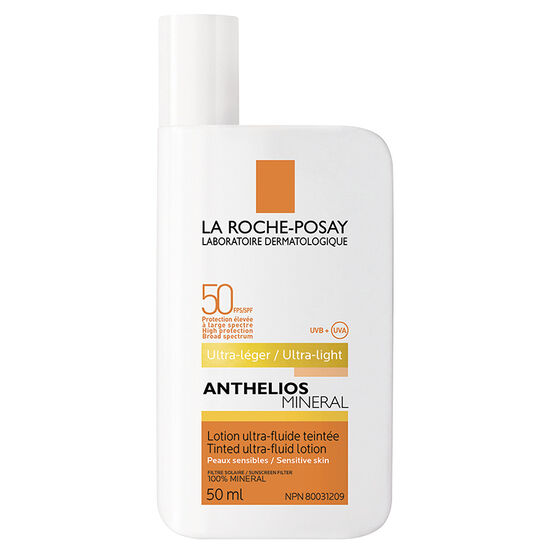 La Roche-Posay Anthelios Mineral Tinted Ultra-Fluid Lotion SPF 50 - 50ml