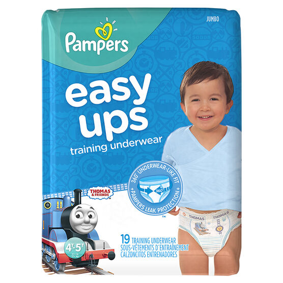 Pampers Easy Ups Training Underwear - 4T/5T - 19ct - Boys