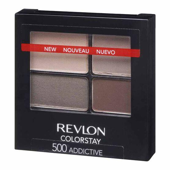 Revlon ColorStay 16 Hour Eye Shadow Quad - Addictive