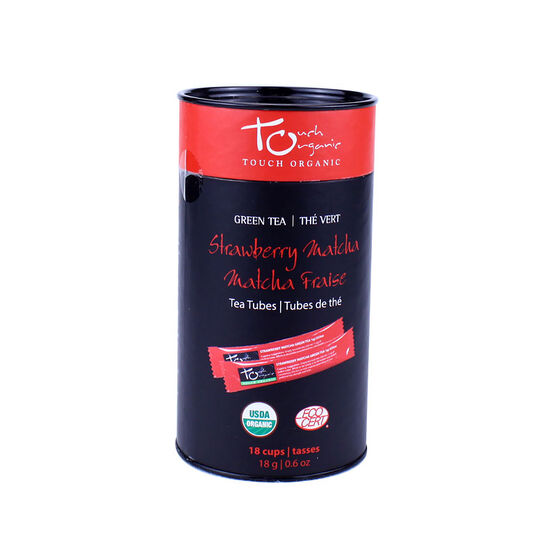 Touch Organic Strawberry Matcha Tea - 18's