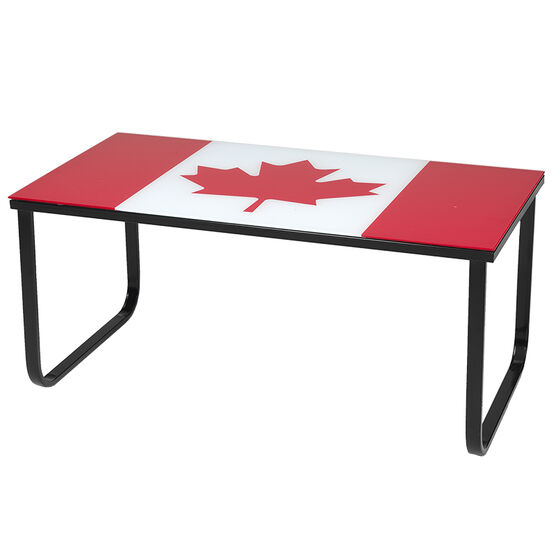 London Drugs Tempered Glass Table - 100 x 50 x 43cm