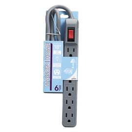 Globe 6 Outlet with Surge Protection