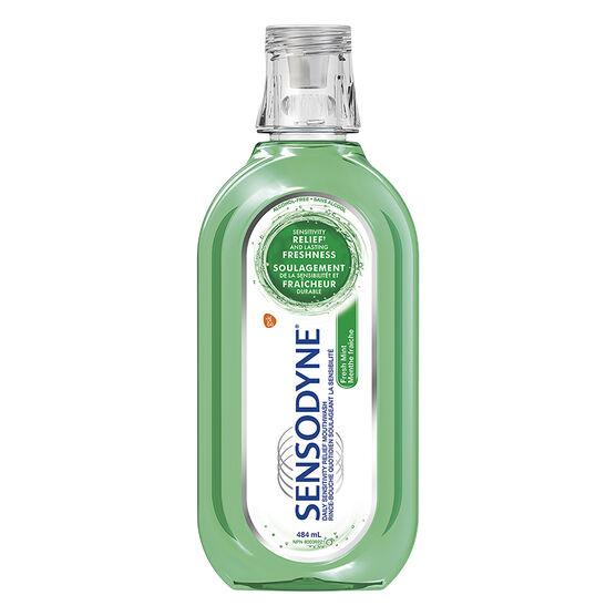 Sensodyne Sensitivity Relief Mouthwash - Fresh Mint - 484ml