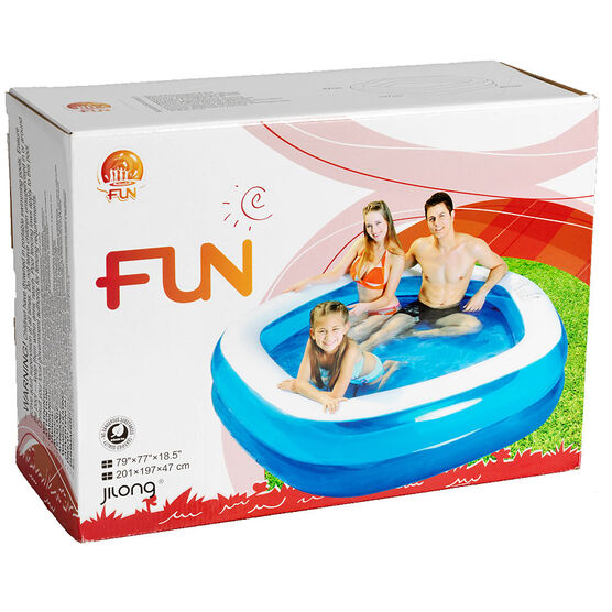 Jilong FUN Pentagon Pool - 79 x 77 x 18.5 inch - JL017222NPF