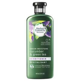 Herbal Essences bio:renew Sheer Moisture Cucumber & Green Tea Conditioner - 400ml
