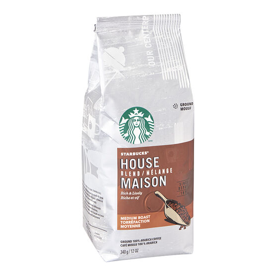 Starbucks Ground Coffee - House Blend 340g