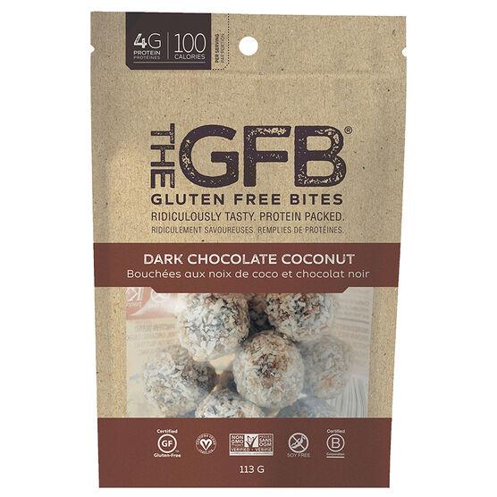 The Gluten Free Bites - Dark Chocolate Coconut - 113g