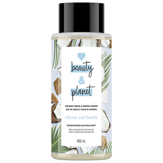 Love Beauty And Planet Volume & Bounty Conditioner - Coconut Water & Mimosa Flower - 400ml