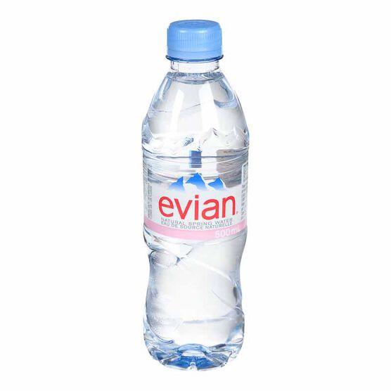 Evian Natural Spring Water - 500ml
