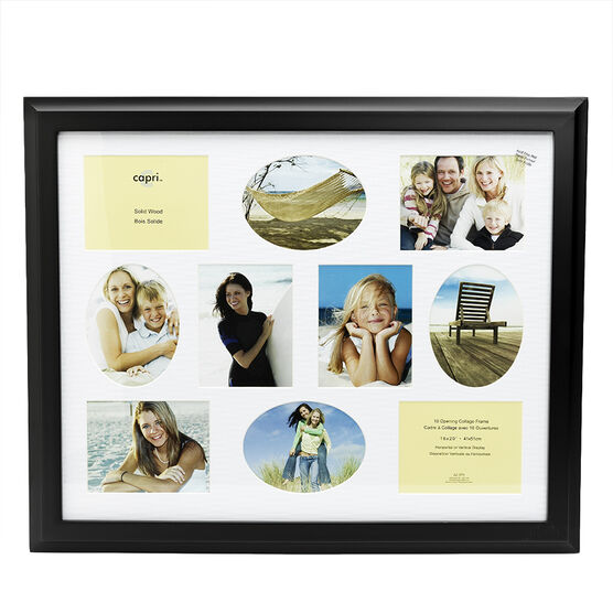 Oxford Collage Frame - 16x20-inch - Black