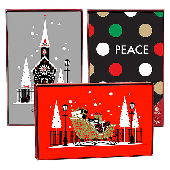American Greetings Christmas Cards - Christmas Remix - 14 count - Assorted
