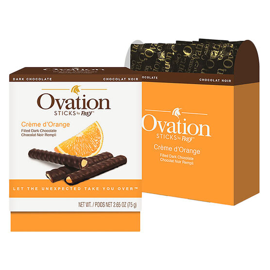Ovation Chocolate Sticks - Crème d'Orange - 75g
