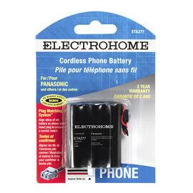 Electrohome ETA277 phone battery - NiCd