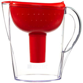 Brita Pacifica Pitcher - Red