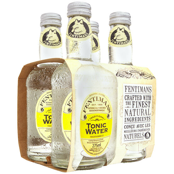 Fentimans Soft Drink - Tonic Water - 4x275ml