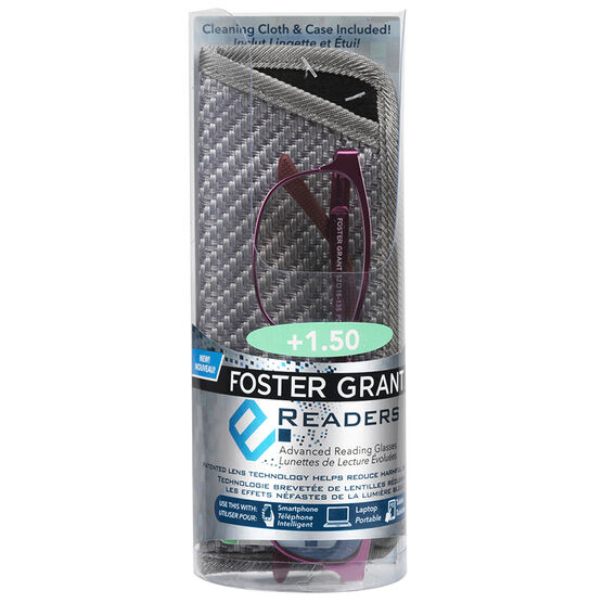 Foster Grant e.Readers Shira Reading Glasses - 1.50