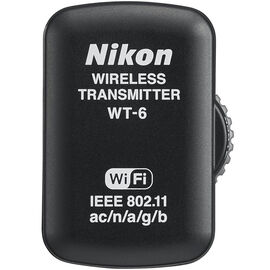 Nikon WT-6 Wireless Transmitter - Black - 27161