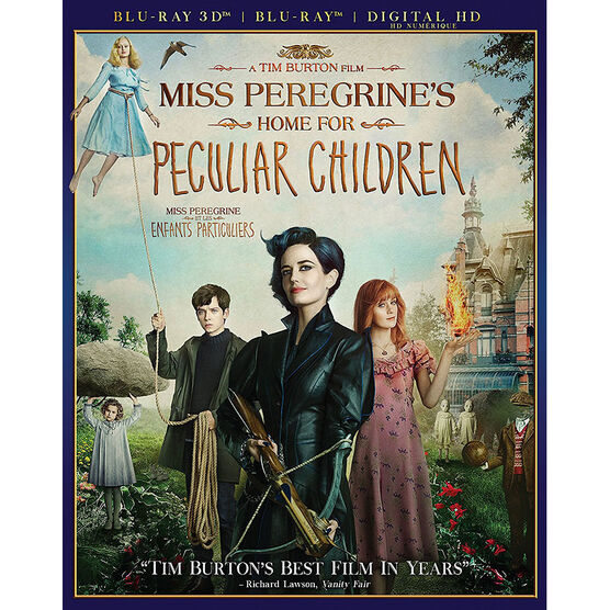 Miss Peregrine's Home For Peculiar Children - 3D Blu-ray