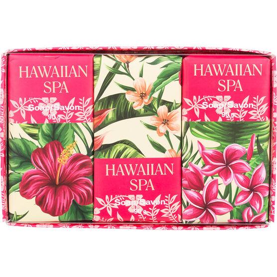 Hawaiian Spa Soap Set - 3 x 90g
