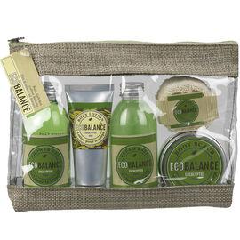 ECOBALANCE Gift Bag Set - Eucalyptus - 5 piece