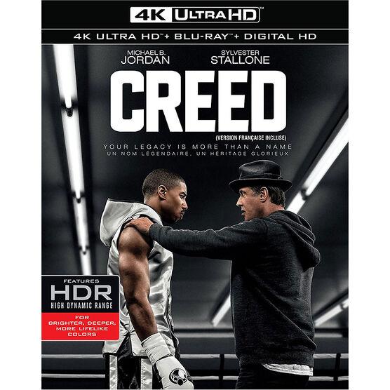 Creed - 4K UHD Blu-ray