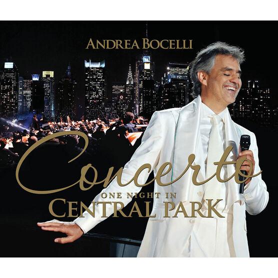Andrea Bocelli Concerto: One Night In Central Park - DVD