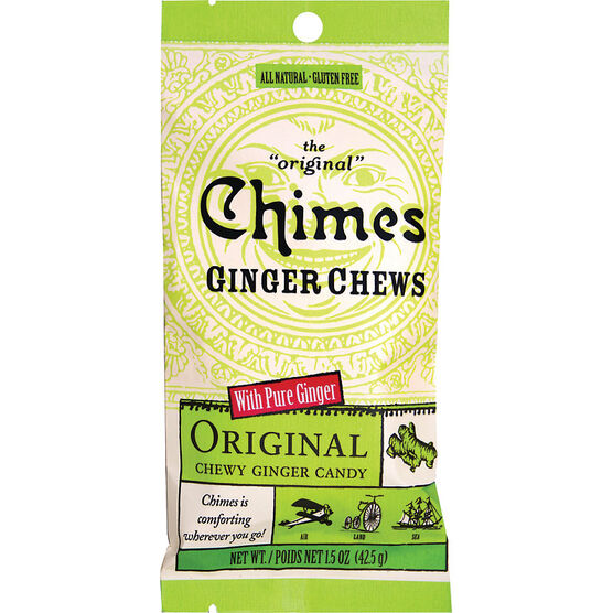 Chimes Ginger Chews - Original - 42.5g