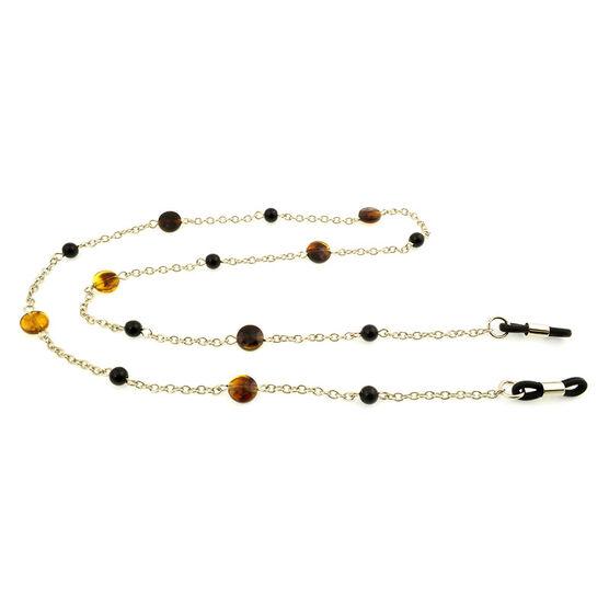 Foster Grant Chain - Gold/Tortoiseshell/Black - 10400861.CG