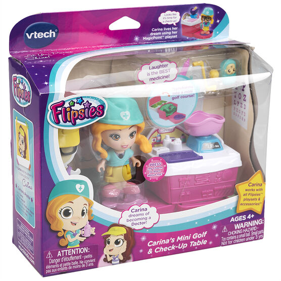 VTech Flipsie - Carina's Mini Golf & Check-Up Table - Assorted