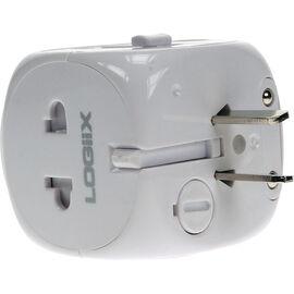 Logiix World Travel Adapter - White - LGX10280