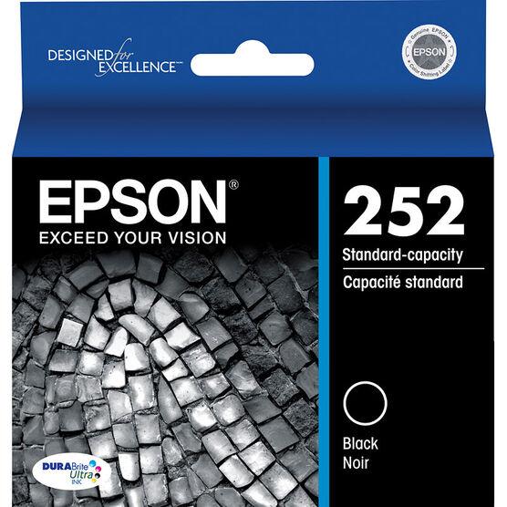Epson DuraBrite Standard Capacity Ink Cartridge  - Black - T252120-S