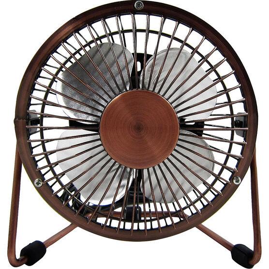 Logiix Retro Air USB Fan - Small - Bronze - LGX-10549