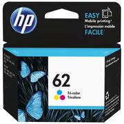 HP 62 Original Ink Cartridge - Tri-Colour - C2P06AN#140