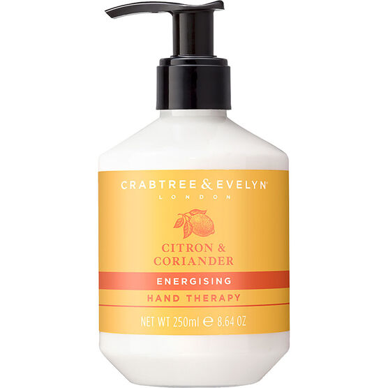Crabtree & Evelyn Citron & Coriander Energising Hand Therapy - 250g